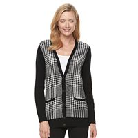 Women's Croft & Barrow® V-Neck Button-Down Cardigan