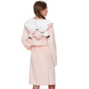 Women's Peace, Love & Fashion  Hooded Animal Robe