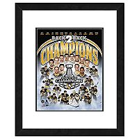 Pittsburgh Penguins 2017 Stanley Cup Champions Composite Framed Photo