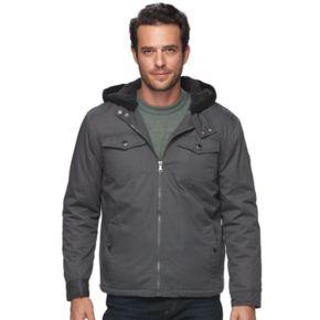 Men's Urban Republic Modern-Fit Twill Hooded Jacket