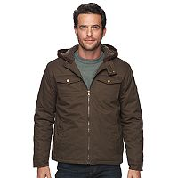Men's Urban Republic Modern-Fit Twill Hooded Jacket