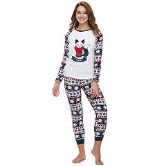 Juniors' Peace, Love & Fashion Pajamas: Get Cozy Fleece 2 pc PJ Set