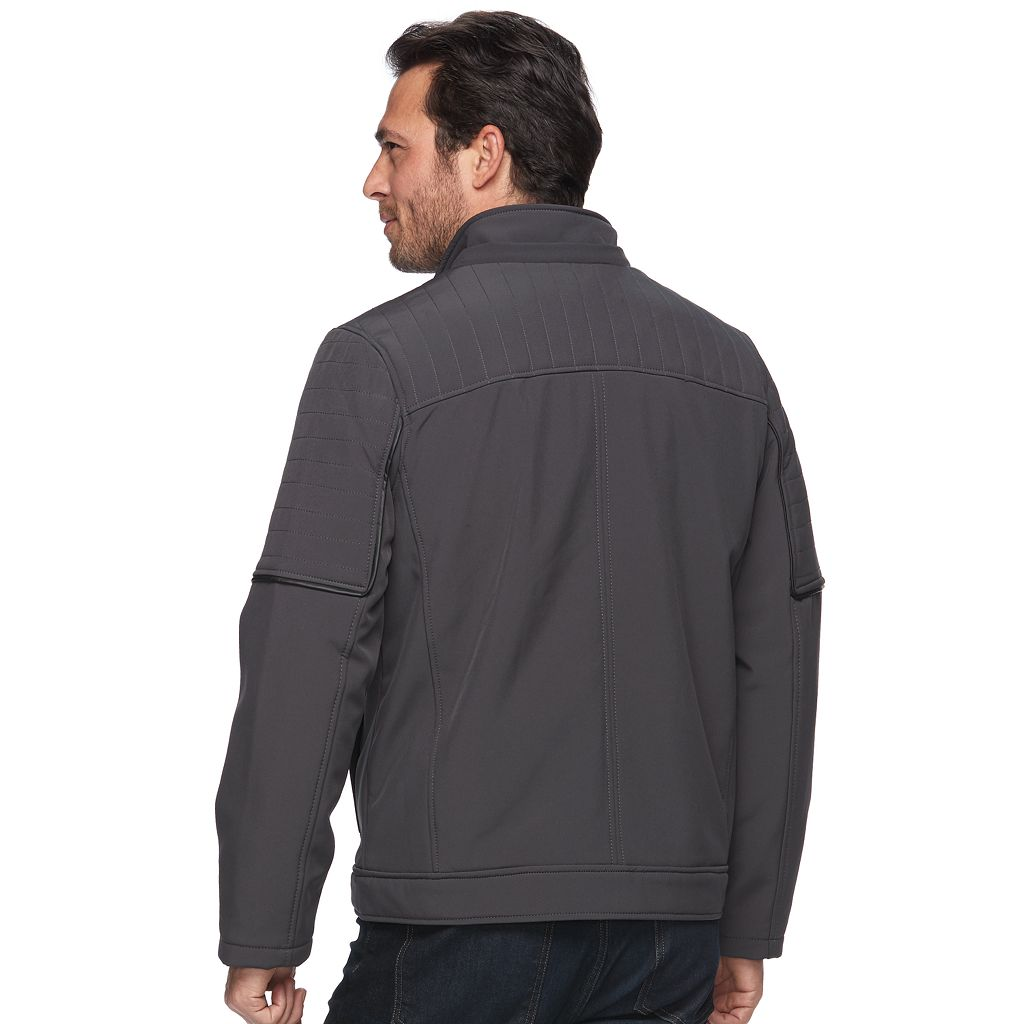 Men's Urban Republic Classic-Fit Softshell Hooded Jacket