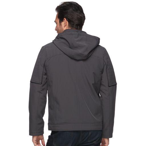 Men's Urban Republic Classic-Fit Softshell Hooded Jacket