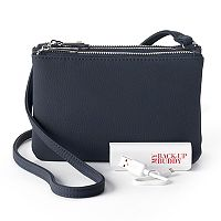 Apt. 9® Protect & Connect RFID-Blocking Phone Charging Crossbody Bag