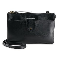 Apt. 9® Baxter RFID-Blocking Double Entry Crossbody Wallet