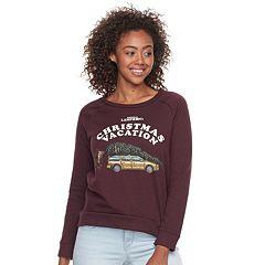 Juniors's Grisworld Christmas Vacation Pullover Sweatshirt