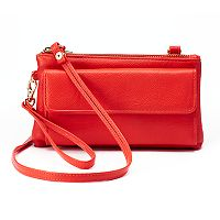 Apt. 9® Chelsea RFID-Blocking Convertible Crossbody Bag
