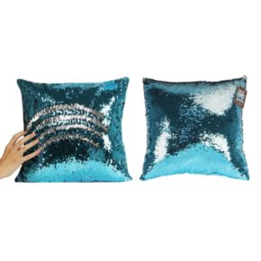 As Seen on TV Mermaid Shimmer Sequin Throw Pillow