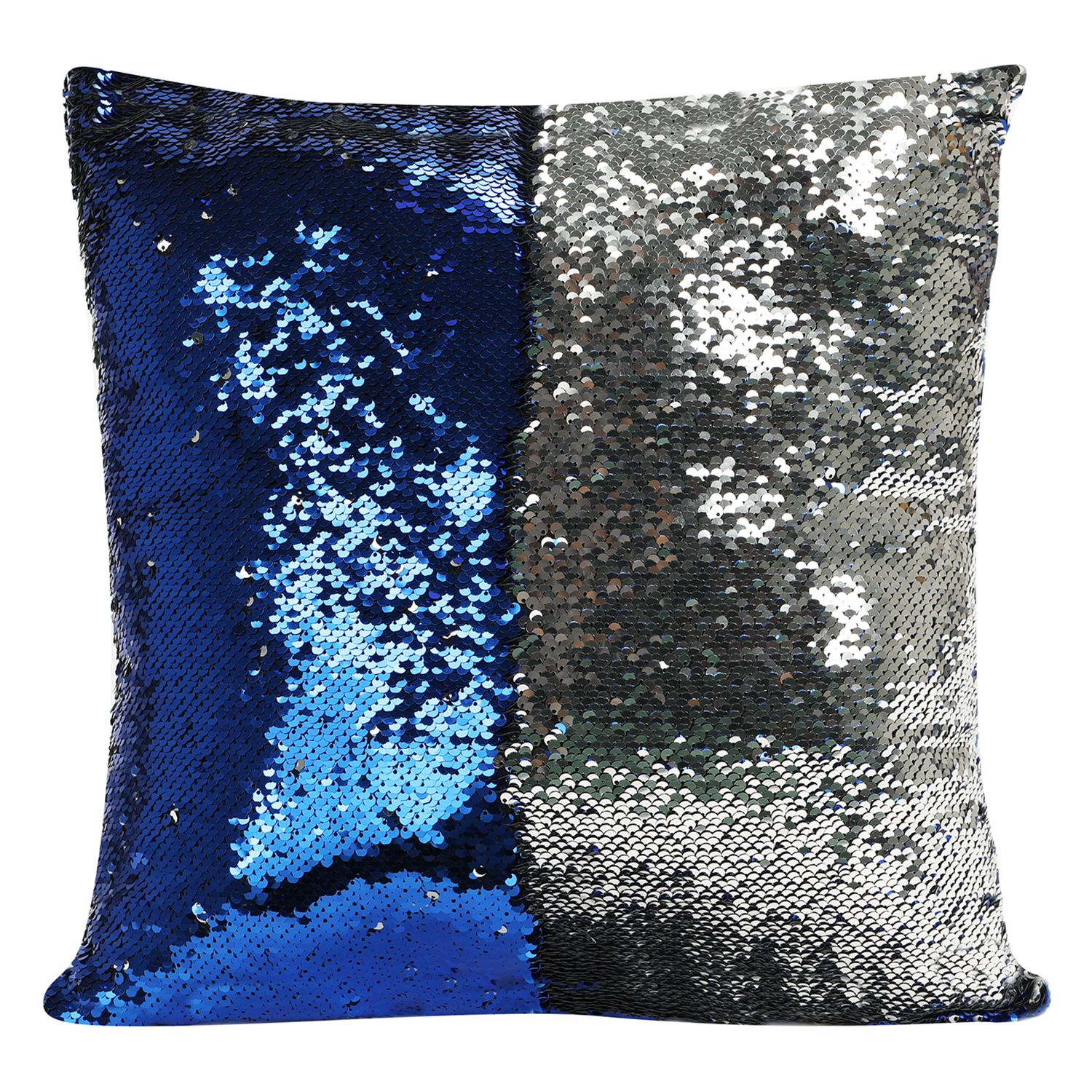 as seen on tv mermaid shimmer sequin throw pillow - Toss Pillows