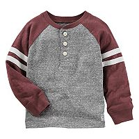 Toddler Boy OshKosh B'gosh® Striped & Slubbed Henley