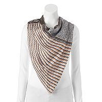 Dana Buchman Dots & Waves Square Scarf