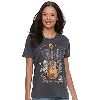 Disney•Pixar Coco Juniors' Guitar Graphic Tee