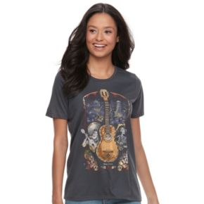 Disney / Pixar Coco Juniors' Guitar Graphic Tee