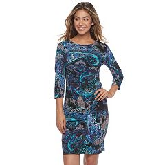Women's Ronni Nicole Paisley Sheath Dress