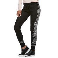 Juniors' SO® Drawstring Sweater Leggings