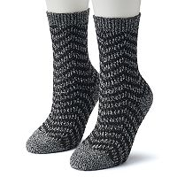 Women's Columbia 2-pk. Zig Zag Striped Crew Socks