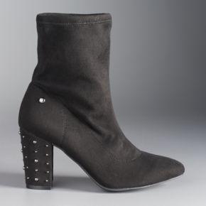 Simply Vera Vera Wang Dallas Women's Ankle Boots