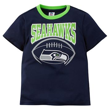 Toddler Seattle Seahawks Team Colors Tee