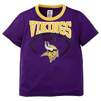 Toddler Minnesota Vikings Team Colors Tee