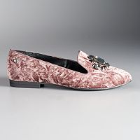 Simply Vera Vera Wang Bariv Women's Smoking Flats