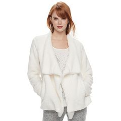 Women's Juicy Couture Plush Open-Front Jacket