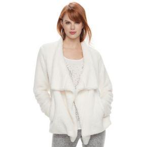 Women's Juicy Couture Plush Open-Front Jacket