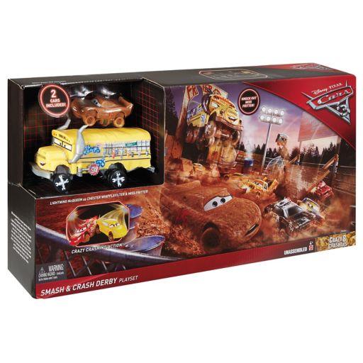 Disney / Pixar Cars 3 Crazy 8 Crashers Smash & Crash Derby Playset