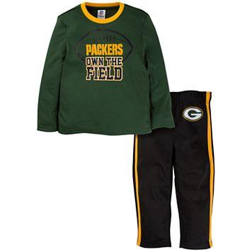 Toddler Green Bay Packers Tee & Pants Set