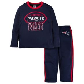 Toddler New England Patriots Tee & Pants Set