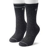 Women's Columbia 2-pk. Extended Size Crew Socks