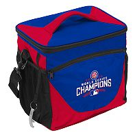 Logo Brands Chicago Cubs 2016 World Series Champions 24-Can Cooler