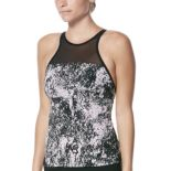 Women's Nike Printed High-Neck Tankini Top