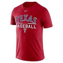 Men's Nike Texas Rangers Practice Tee