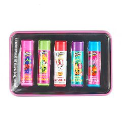 Girls 4-16 Shopkins 5-pk. Lip Balm & Tin