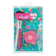 Girls 4-16 Donut Blush & Brush Set