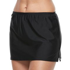 Women's Croft & Barrow® High Rise Skirtini Bottoms