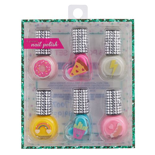 Girls 4-16 Rhinestone Nail Polish Set