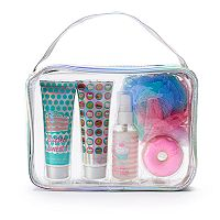 Girls 5-12 6 pc Sweet Treat Cake Batter Bath Accessories Set