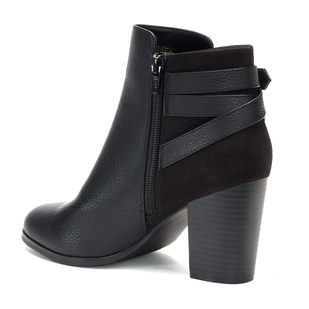 Apt. 9® Analyst Women's High Heel Ankle Boots