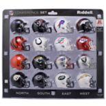 Riddell NFL AFC Speed Pocket-Sized Helmet Set