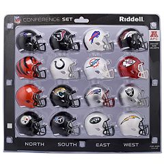 Riddell NFL AFC Speed Pocket-Sized Helmet Set