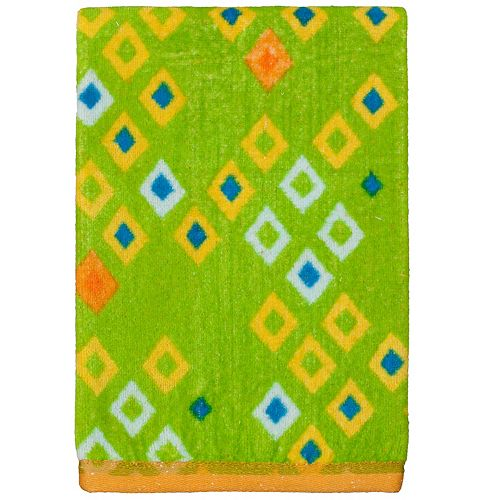 Creative Bath Origami Jungle Hand Towel