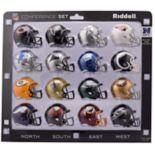 Riddell NFL NFC Speed Pocket-Sized Helmet Set
