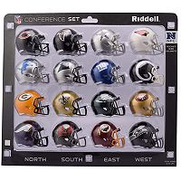 Riddell NFL NFC Speed Pocket-Sized Helmet Set