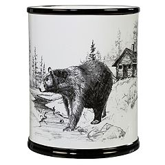 Creative Bath Sketches Wastebasket