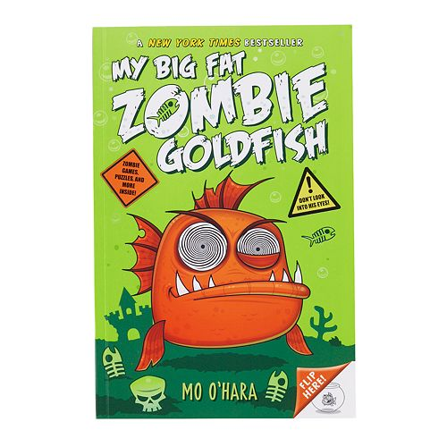 "Kohl's Cares® ""My Big Fat Zombie Goldfish"" Activity Book"