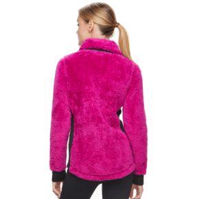 Women's FILA SPORT® Francesca Sherpa Fleece Jacket