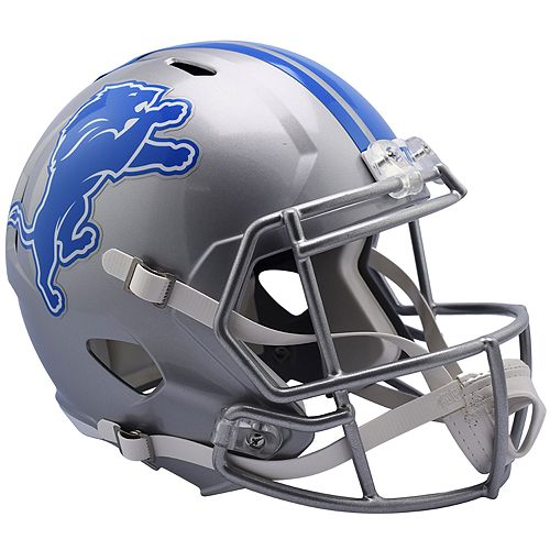 Riddell NFL Detroit Lions Speed Replica Helmet
