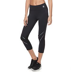 Women's FILA SPORT® Racing Reflective Crop Leggings
